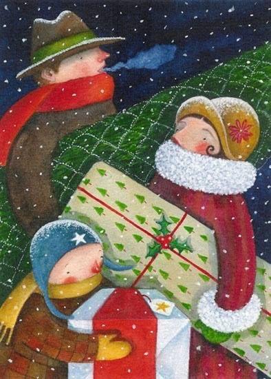 Ilustrované Vianoce - Obrázok č. 329