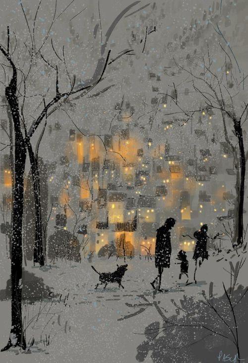 Ilustrované Vianoce - Obrázok č. 330