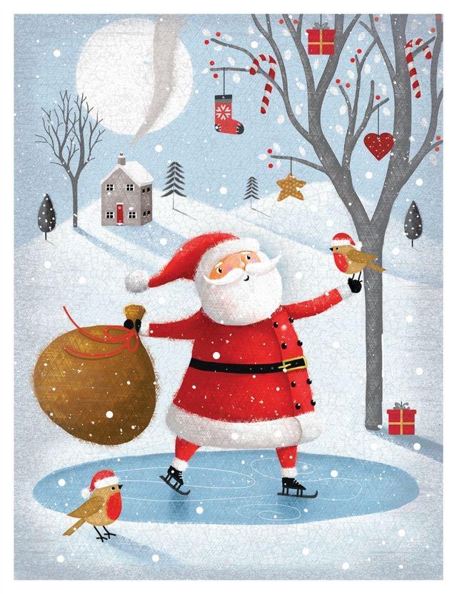 Ilustrované Vianoce - Obrázok č. 332