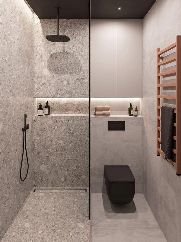 Moderná kúpeľňa - Obrázok č. 46