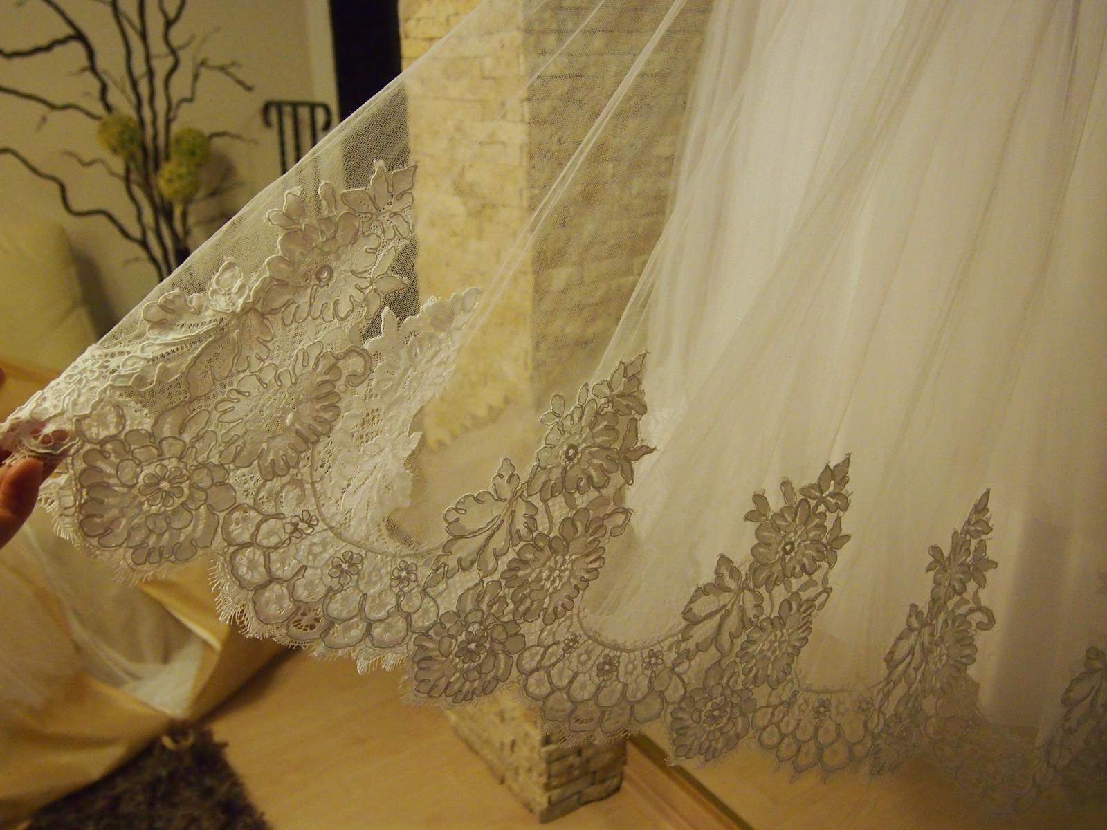 Svadobné šaty 34  - Obrázok č. 2