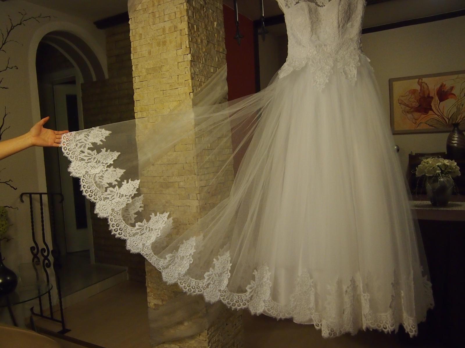 Svadobné šaty 34  - Obrázok č. 4
