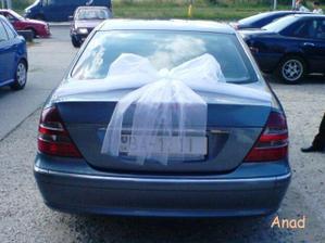 Budeme mít autí zabalený jako dárečky :-)