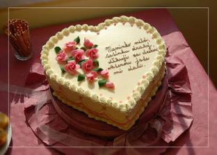 Krásný a výborný dortík pro mou maminku