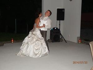 Společný tanec.
