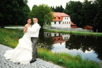 Pro nás nejkouzelnější, nejromantičtější a nejklidnější místo pro svatbu :-D