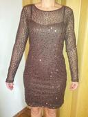 Luxusní flitrové šaty, 40