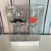 Svatební skleničky Mr. & Mrs.,