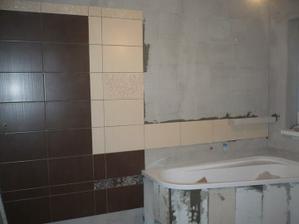 obkladáme kúpelňu - január 2010
