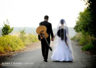 obaja sme gitaristi :-) preto ta fotka