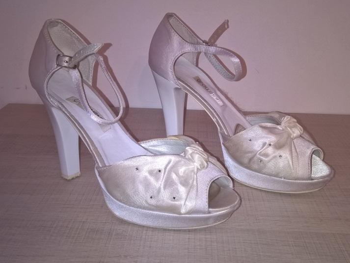 Svatební boty vel. 36 (odpovídají 37) - Obrázek č. 1