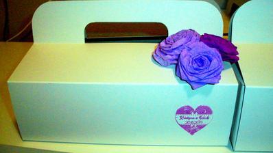 Krabičky na zvací koláčky jsou připraveny. Už je jen naplnit :)