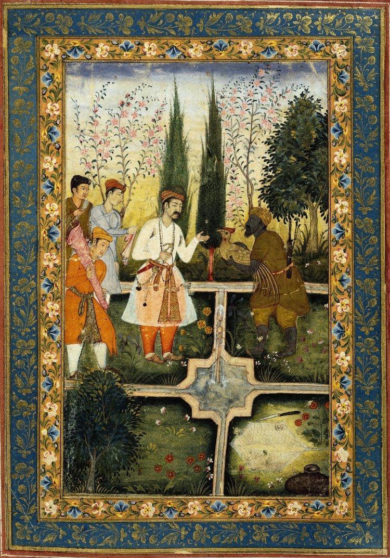 Paradise Garden - rajská záhrada. Od Španielska cez Maroko až po Irán a Indiu - Obrázok č. 1