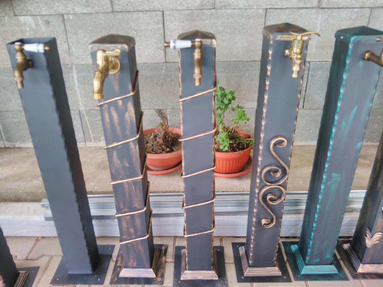 záhradný vodovodny stojan - Obrázok č. 1