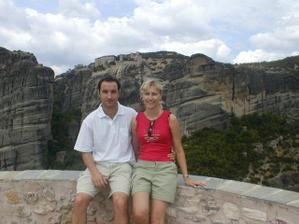 My dva na dovolené v Řecku 2004  :-)