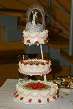 A tohle byl náš svatební dort