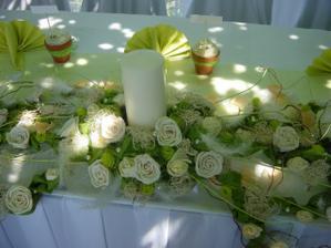 Stôl mladomanželov