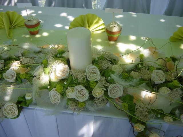 Darinka{{_AND_}}Mirek - Stôl mladomanželov
