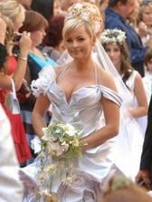 pro mě je to nejhezčí nevěsta ze všech celebrit