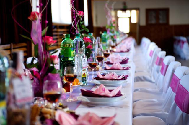 A party sa moze zacat :) - Moja svadobna vyzdoba...