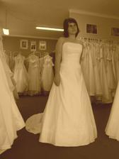 a takhle to vypadalo při výběru šatů..