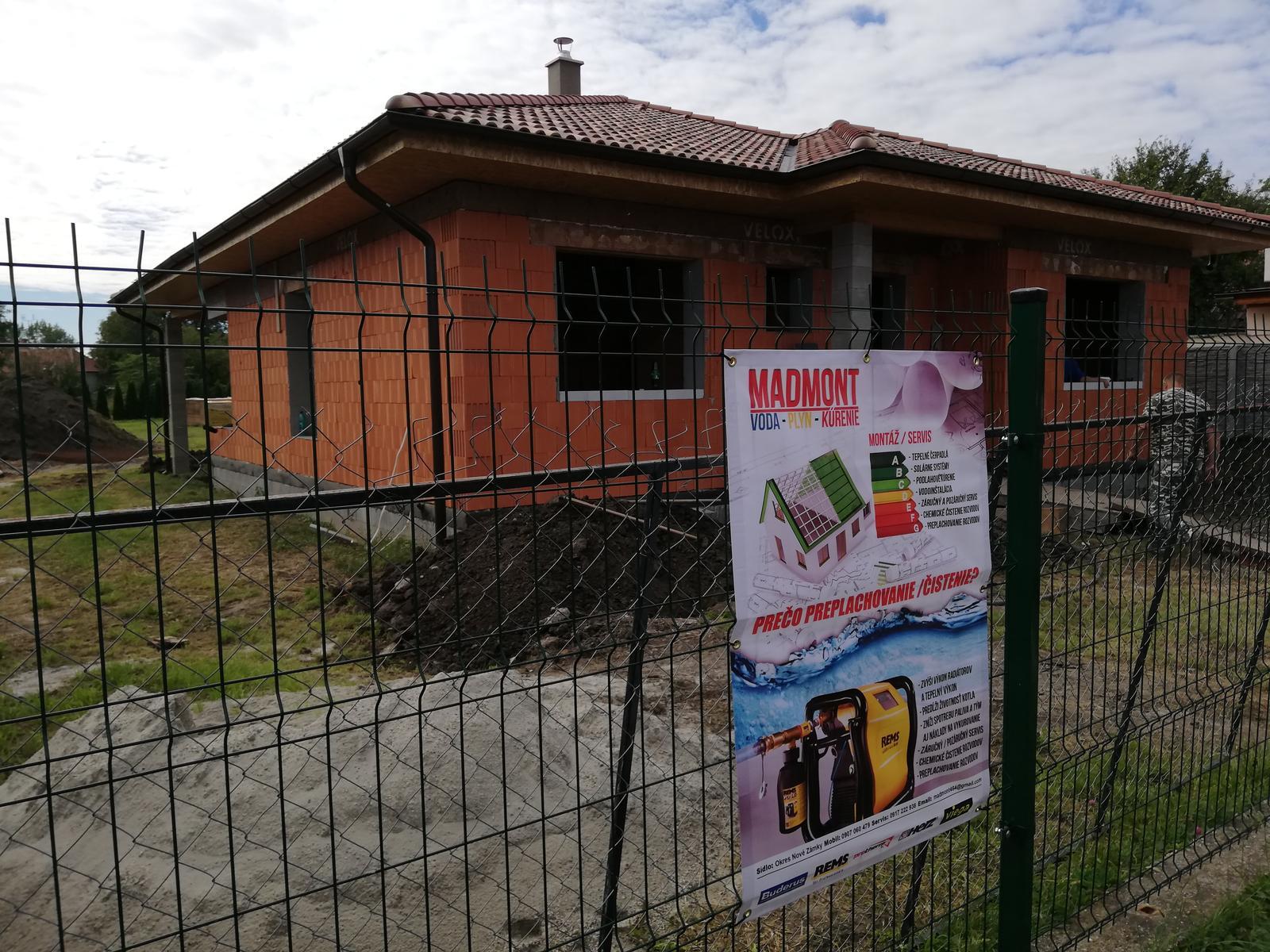 Inštalácie v RD Palárikovo - Obrázok č. 1