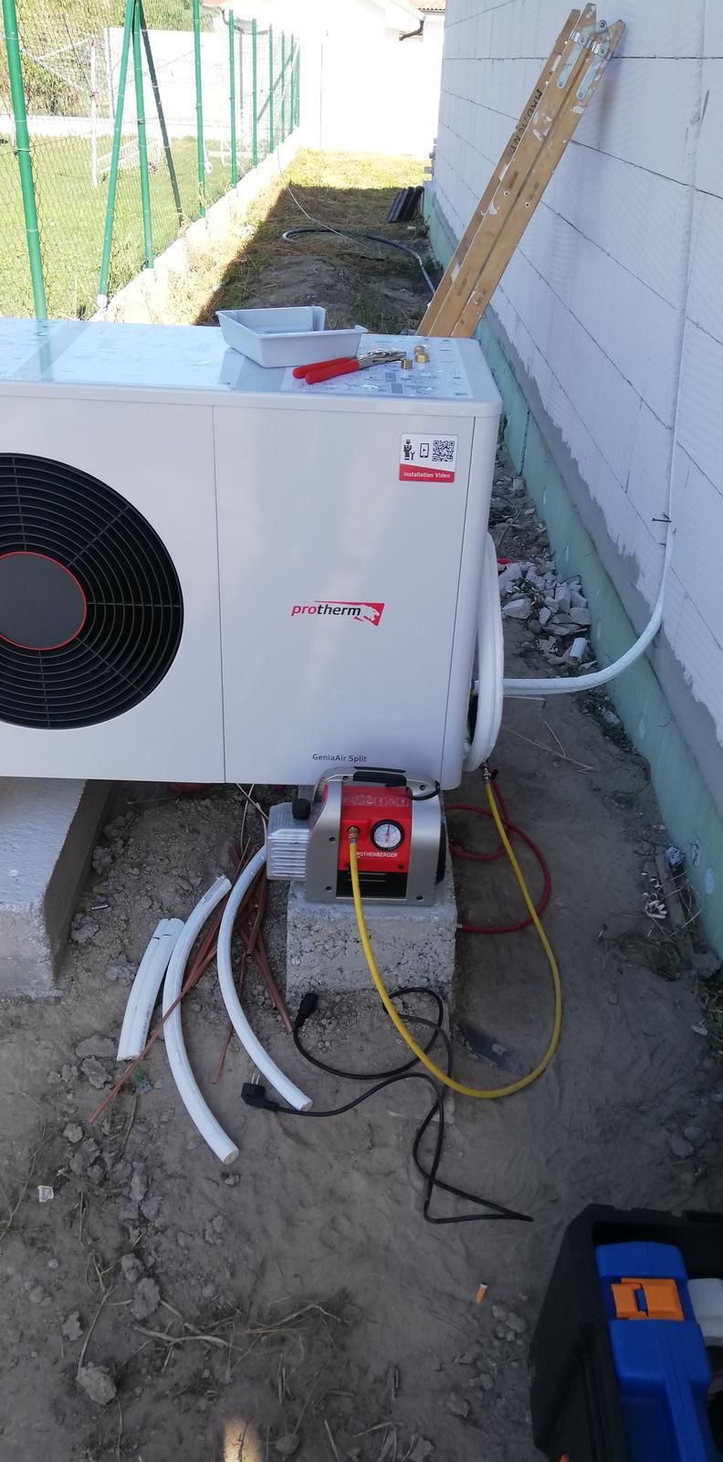 Montáž tepelného čerpadla - Protherm Zostava GeniaAir Split - Obrázok č. 3