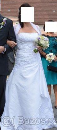 Svatební šaty vel. 38-42 - Obrázek č. 1