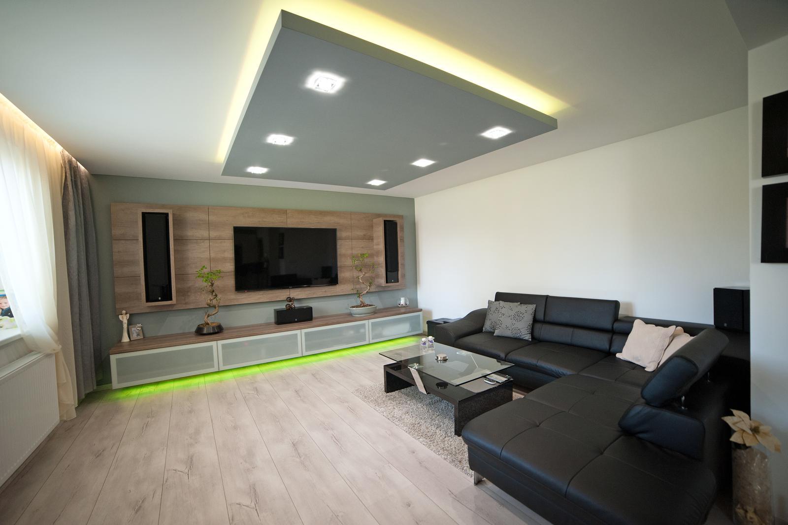 Niečo z našej práce - obývačková stena