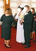 Svadobné/spoločenské šaty, 42