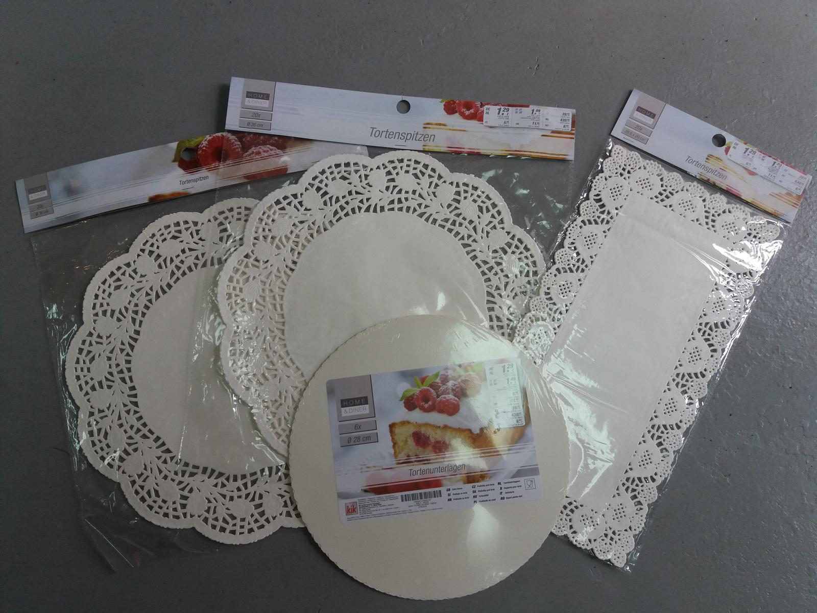 Papírové podnosy pod dort - Obrázek č. 1