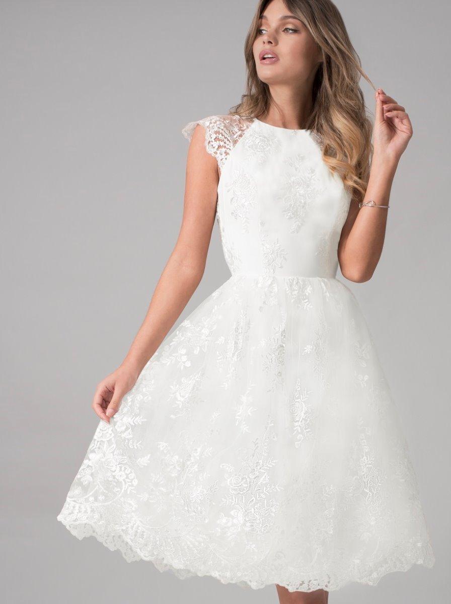 Krátké svatební šaty Chi Chi London - Obrázek č. 1