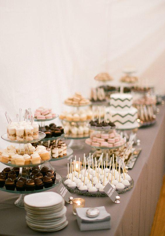 Candybar na svadbu - inšpirácie - Obrázok č. 19