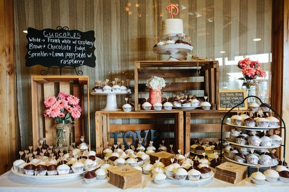 Candybar na svadbu - inšpirácie - Obrázok č. 21