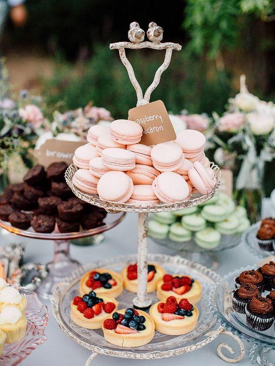 Candybar na svadbu - inšpirácie - Obrázok č. 28