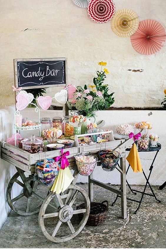 Candybar na svadbu - inšpirácie - Obrázok č. 35