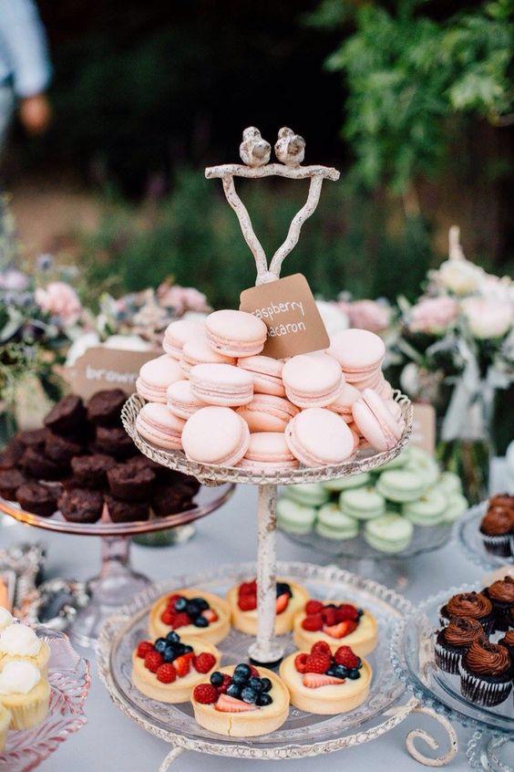 Candybar na svadbu - inšpirácie - Obrázok č. 48