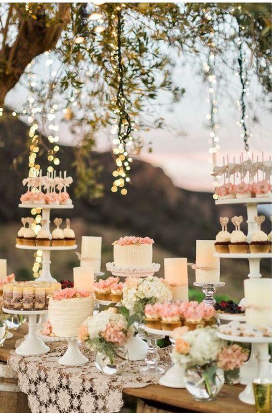 Candybar na svadbu - inšpirácie - Obrázok č. 50