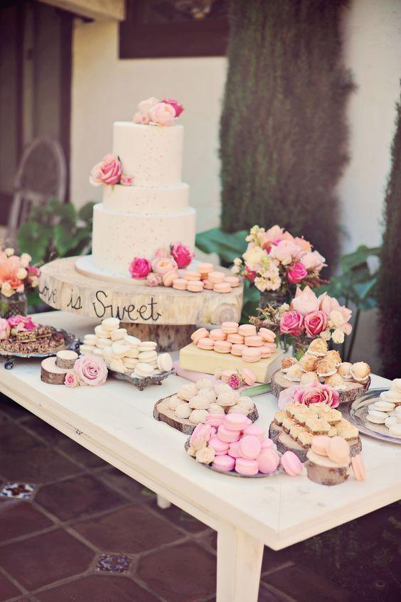 Candybar na svadbu - inšpirácie - Obrázok č. 53