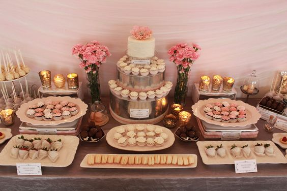 Candybar na svadbu - inšpirácie - Obrázok č. 67