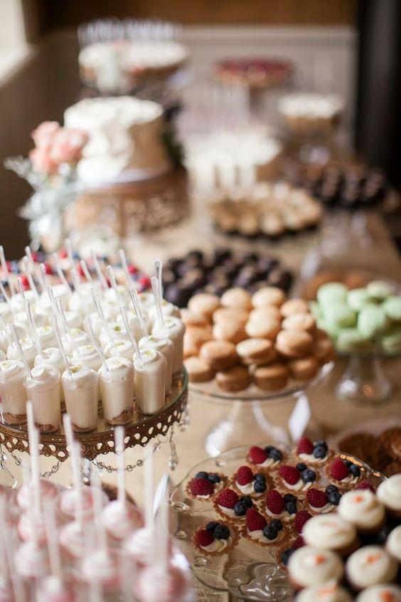 Candybar na svadbu - inšpirácie - Obrázok č. 68