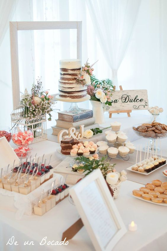 Candybar na svadbu - inšpirácie - Obrázok č. 100