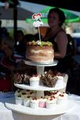 Stojan na cupcake dort,