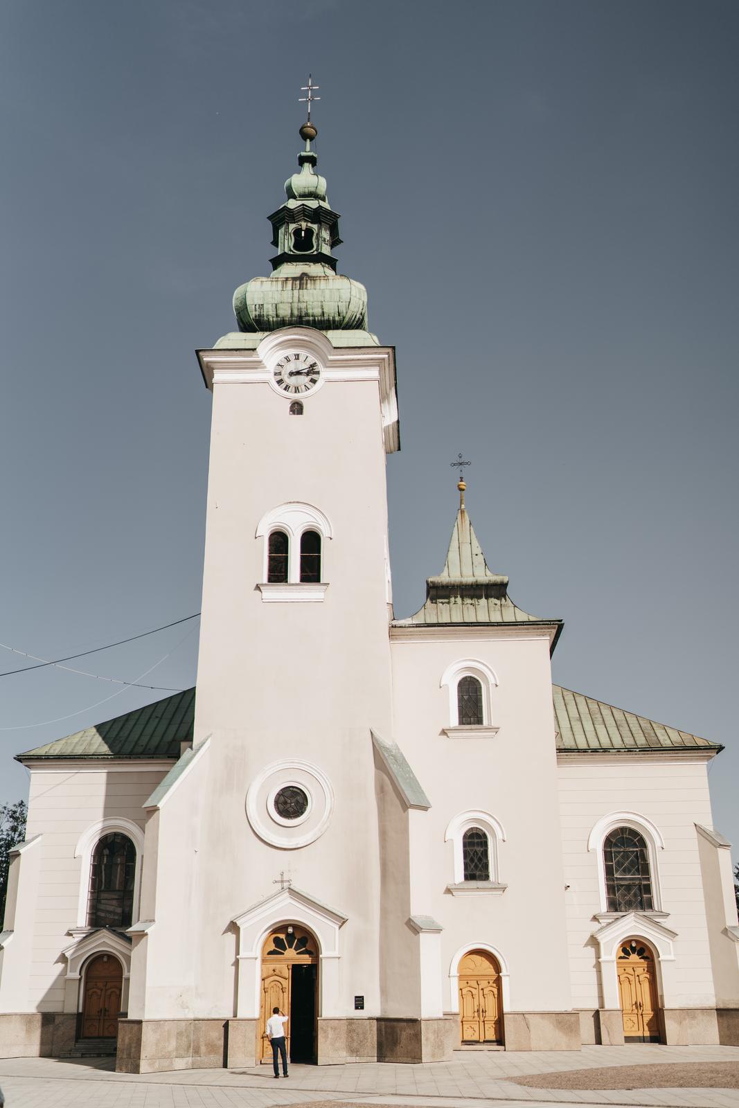Mirka    {{_AND_}}    Tomáš - Tu sme mali obrad - Kostol sv. Ondreja, Ružomberok