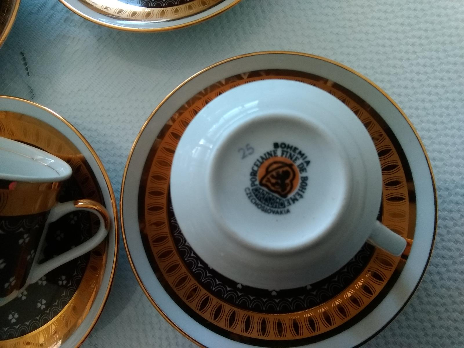 Kávová suprava bohemia - Obrázok č. 1