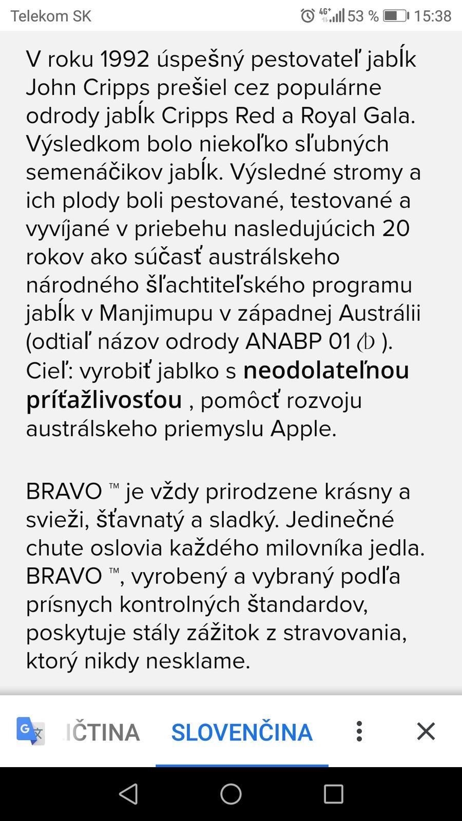 Bravo je sladké a... - Obrázok č. 1