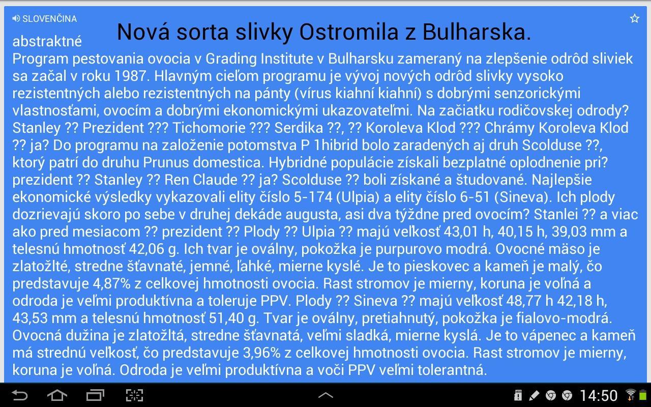 Nová odroda slivky Ostromila... - Obrázok č. 2