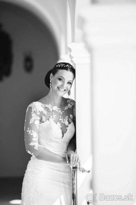 Svadobné šaty s očarujúcou vlečkou - Obrázok č. 3