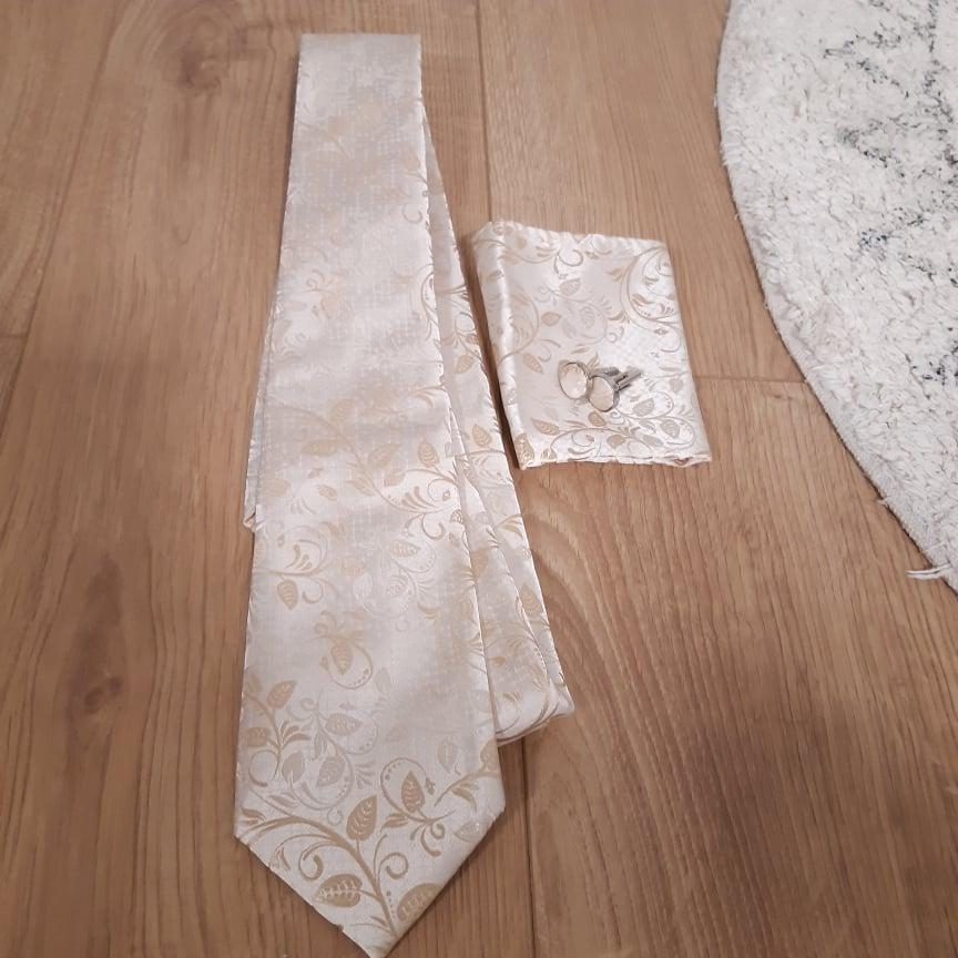 kravata pre ženích v zlatej farbe - Obrázok č. 4