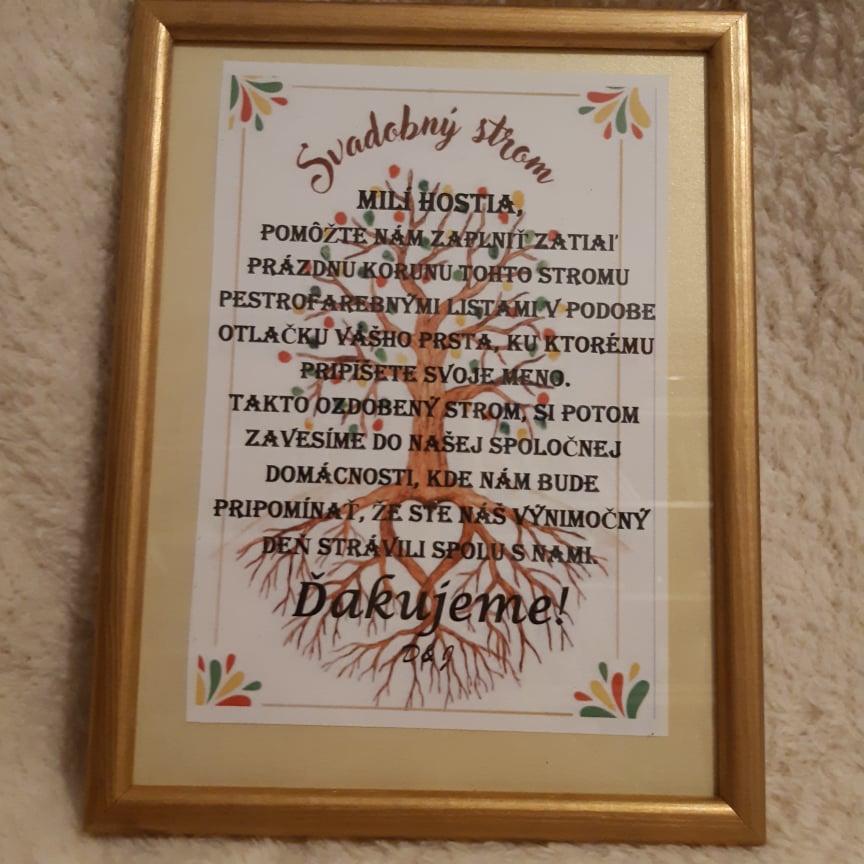 zlatý drevený rám_pokyny na strom šťastia - Obrázok č. 1